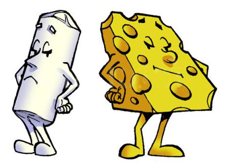 chalk-cheese