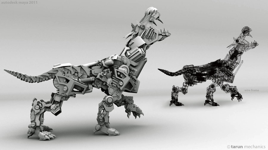 mechanical_dog_by_tarunarts-d5feg1d